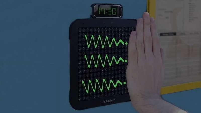 Digital Braille speaker communicates using mid-air pulses