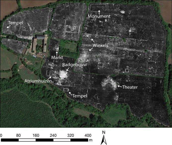 Entire roman city mapped for the first time—while it's still buried