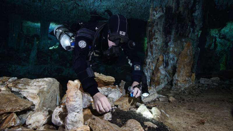 Divers uncover mysteries of earliest inhabitants of Americas deep inside Yucatan caves