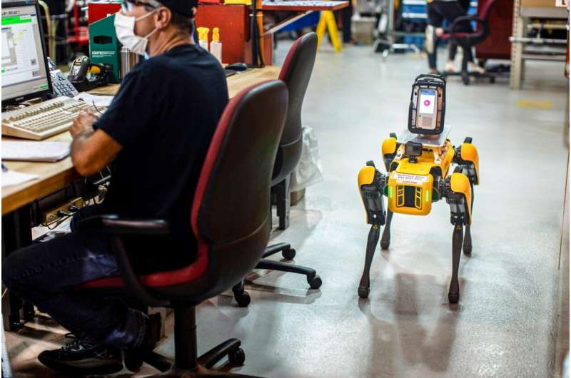 Ford puts robotic dogs in driver's seat at manufacturing plant