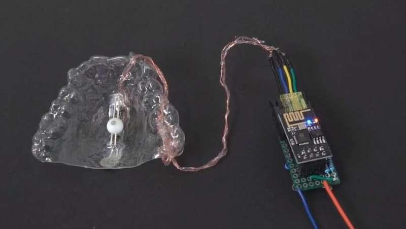 Oral device is a digital joystick
