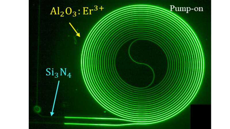 New light amplifier can boost the potential of photonics