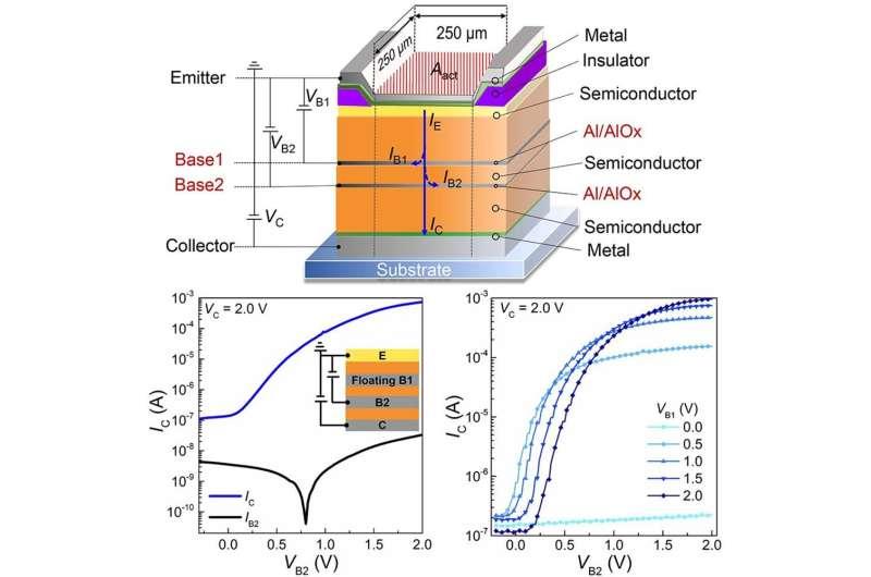 Dresden physicists develop printable organic transistors