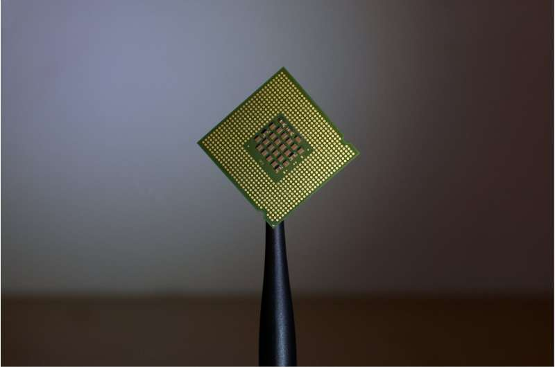 Radiation-immune and repairable chips to fabricate durable electronics