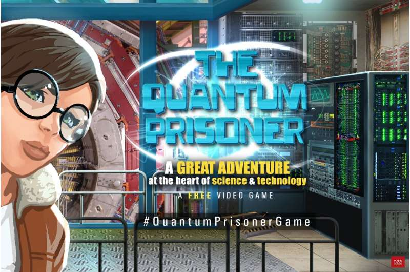 The Quantum Prisoner, a free scientific and technological video game is now available online