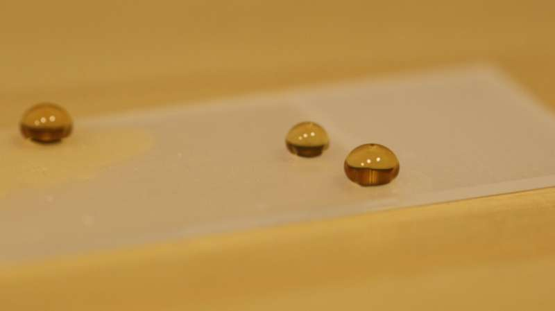 Physicists surprised to find that in specially coated tubes, the more viscous a liquid is, the faster it flows
