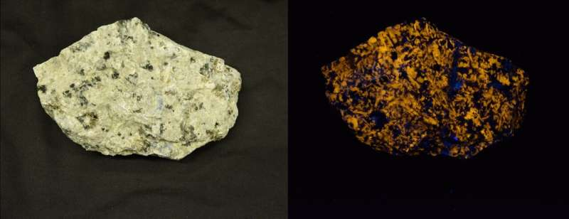 Researchers unravel the secrets of how natural stone glows in the dark