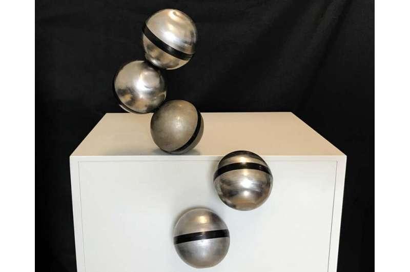 Magnetic FreeBOT balls make giant leap for robotics