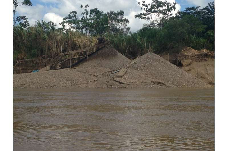 Mine ponds amplify mercury risks in Peru's Amazon