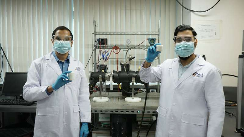 Engineers invent fast and safe way to store natural gas for useful applications