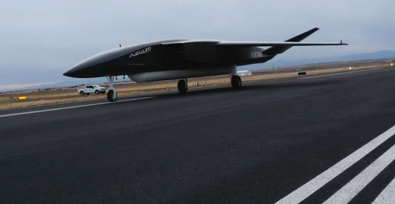 Huge drone set to launch satellites in mid-air