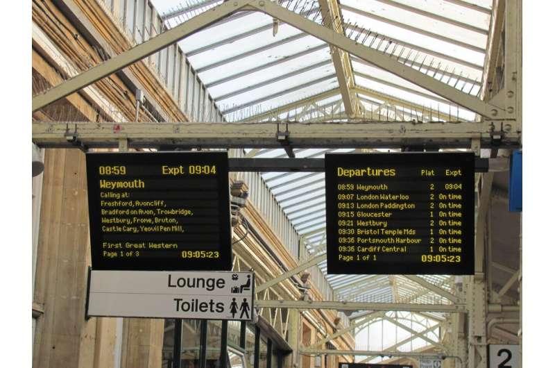 Predicting British railway delays using artificial intelligence