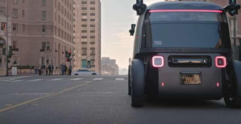 Amazon's Zoox unveils autonomous electric vehicle