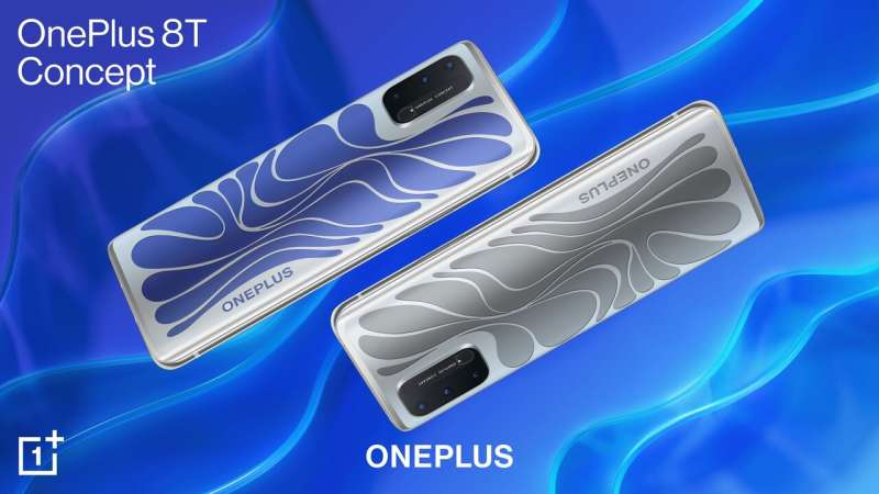 OnePlus 8T Concept phone has color-shifting, camera-camouflage features.