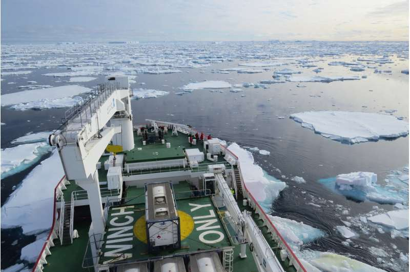 Antarctic ice sheets capable of retreating up to 50 meters per day