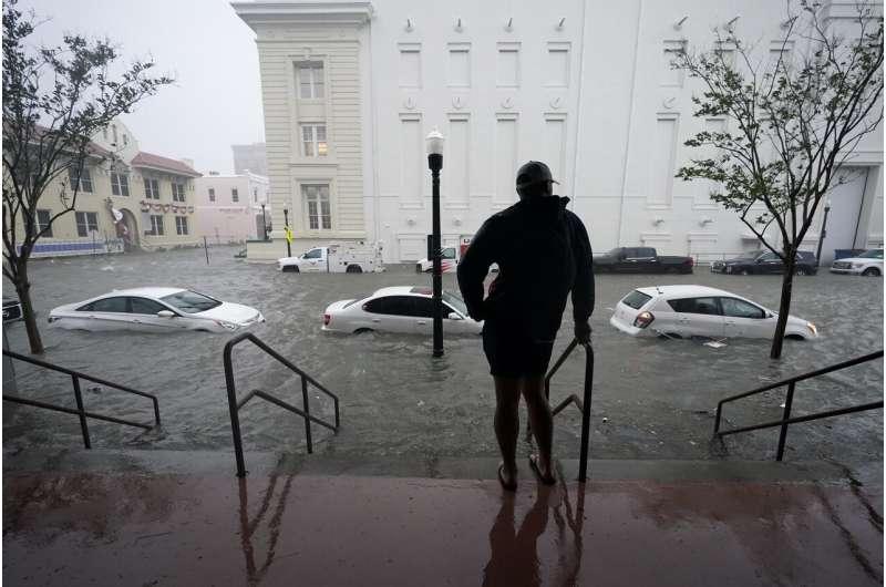 Hurricane Sally unleashes flooding along the Gulf Coast