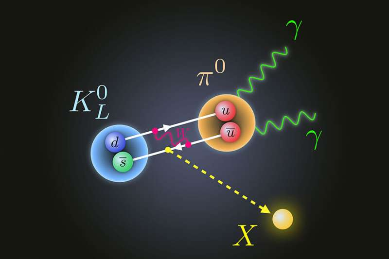Researchers propose new physics to explain decay of subatomic particle