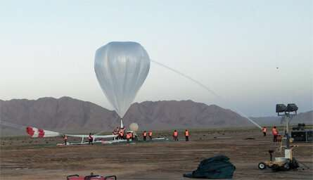 Scientists conduct first in situ radiation measurements 21 km in the air over Tibetan Plateau