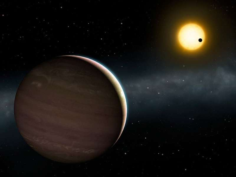 Unprecedented ground-based discovery of two strongly interacting exoplanets