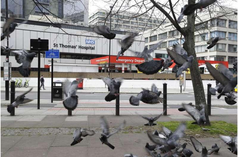 """We love you NHS"": UK health service gears up for virus peak"