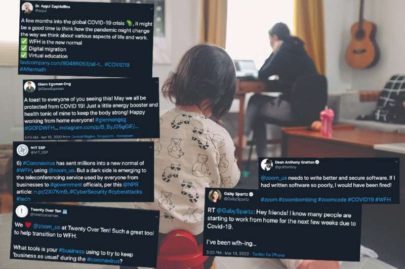 Working from home: Twitter reveals why we're embracing it