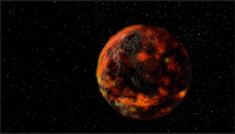 Researchers find younger age for Earth's moon