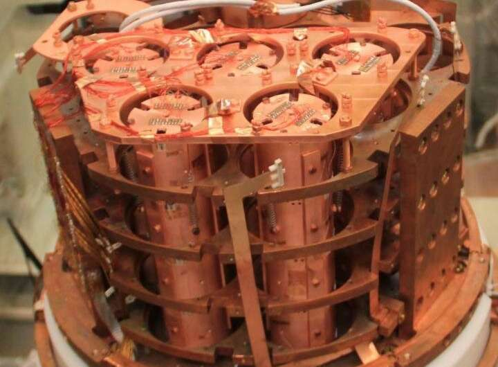 Scientists demonstrate a new experiment in the search for theorized 'neutrinoless' proc