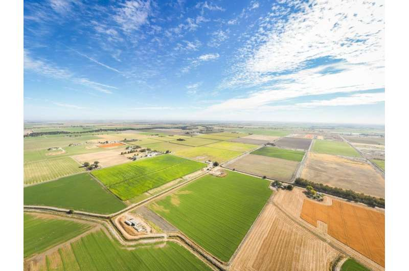 Researchers use satellite imaging to map groundwater use in California's central valley