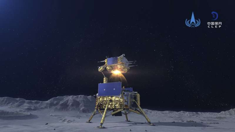 China prepares for return of lunar probe with moon samples