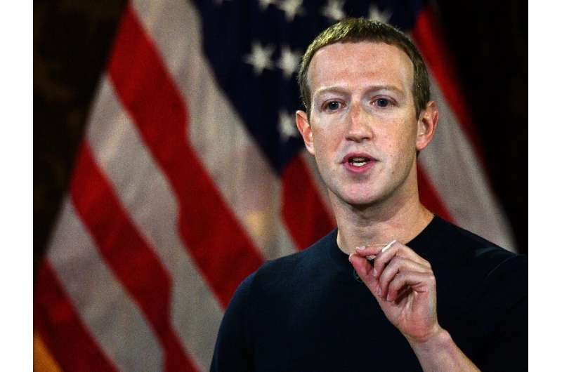 "Facebook CEO Mark Zuckerberg said private social media platforms ""shouldn't be the arbiter of truth of everything that peop"
