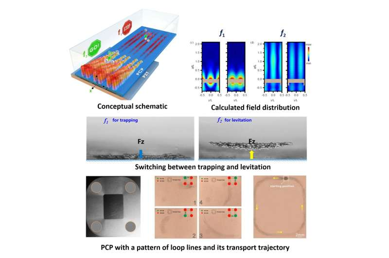 Scientists use phononic crystals to make dynamic acoustic tweezers