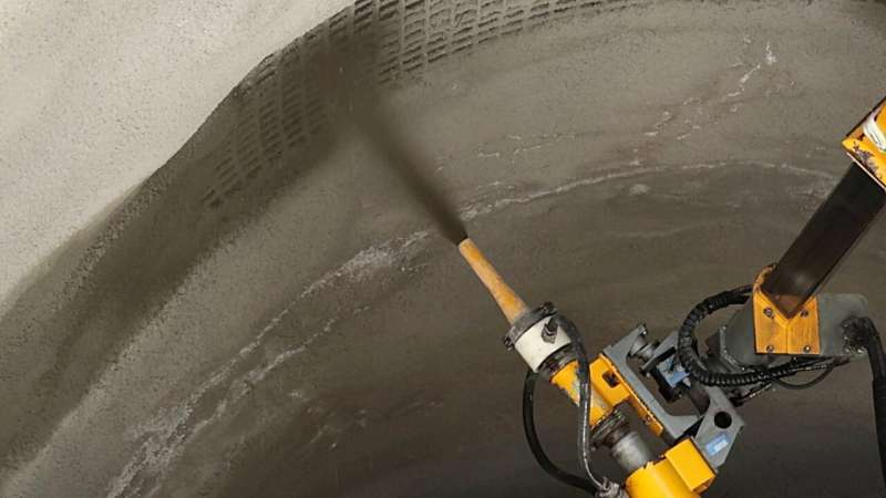 Sustainable shotcrete mix-designs for tunnels with longer service-life