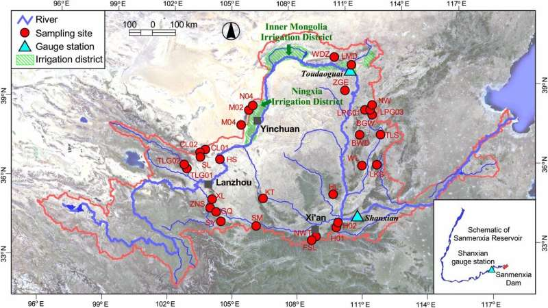 New study provides valuable historical dataset for Yellow River water management