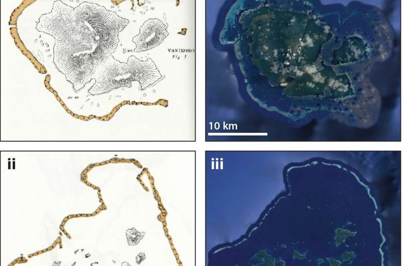 Scientists compile new evidence that atolls are formed by cyclic changes in sea level