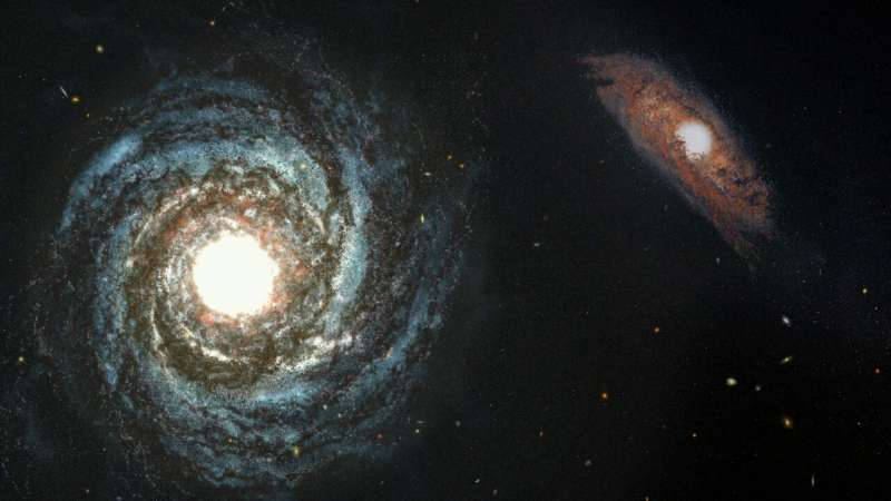 Simulations show Webb Telescope can reveal distant galaxies hidden in quasars' glare