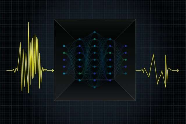 Machine learning picks out hidden vibrations from earthquake data