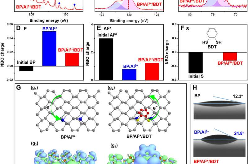 Regulating the reactivity of back phosphorous through protective chemistry