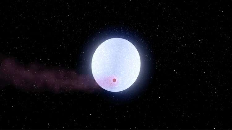 Researchers observe iron in exoplanetary atmosphere