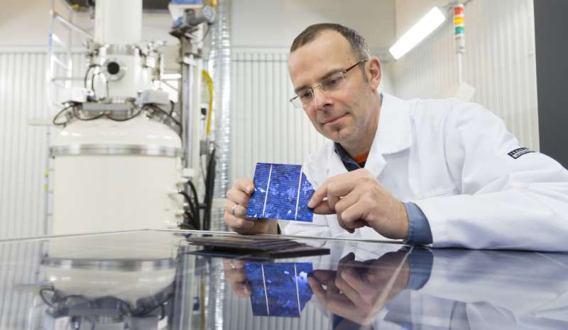 Searching for the secret to more efficient solar cells