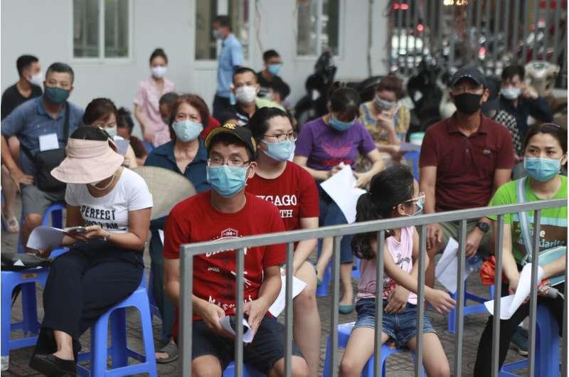 Vietnam reports more than 3 dozen new cases, 3rd death