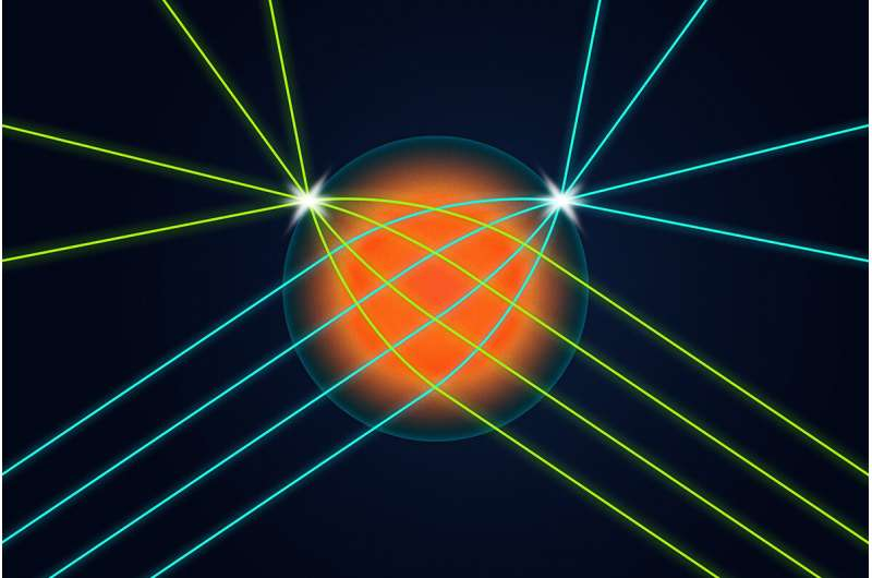 Researchers confront optics and data-transfer challenges with 3D-printed lens