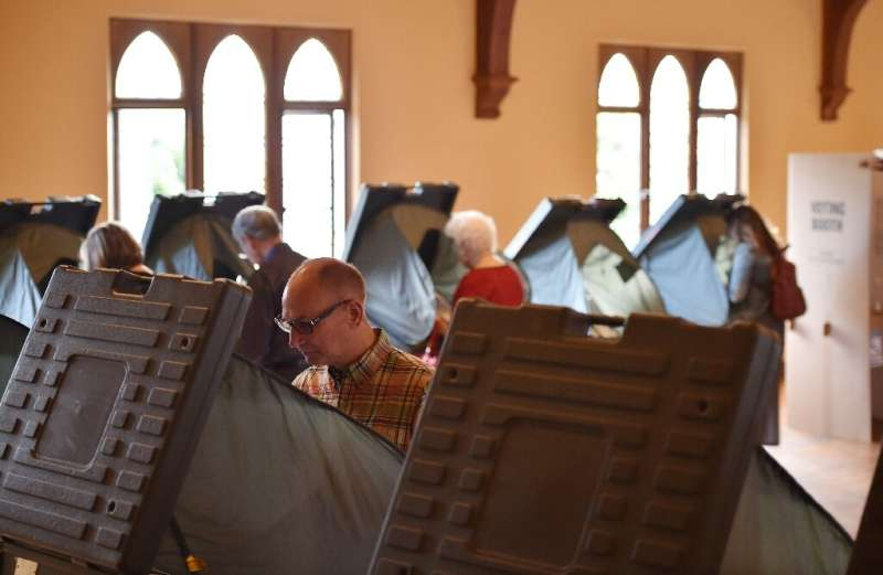 """A 2018 study recommended that electronic voting machines use """"human-readable"""" ballots which can be audited"""