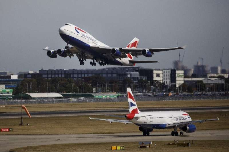 A British Airways is among a number of airlines halting or reducing flights to China