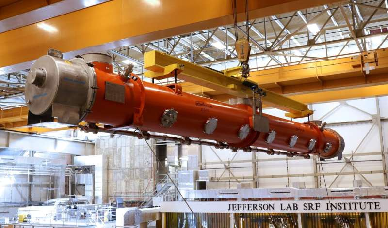 Accelerator makes cross-country trek to enable laser upgrade