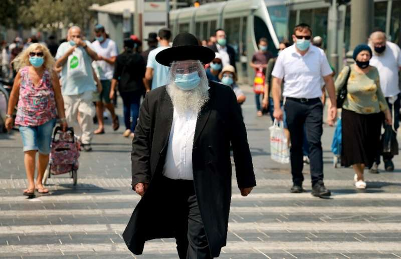 According to an AFP tally, Israel is second only to Bahrain for the world's highest coronavirus infection rate by population