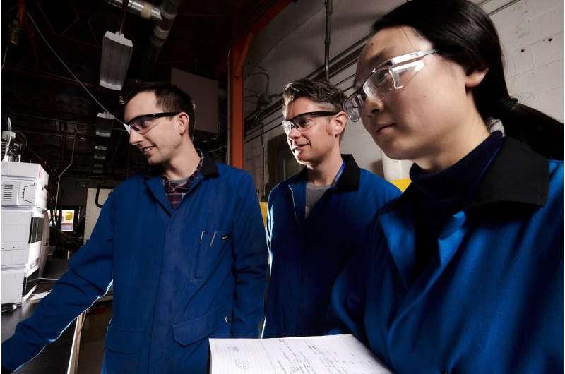 Acetone plus light creates a green jet fuel additive