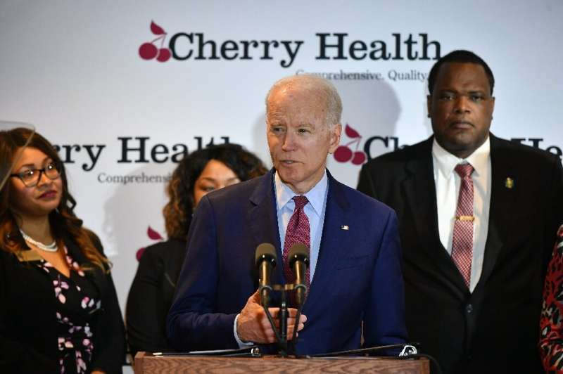 A deceptively edited video of Democratic presidential hopeful Joe Biden, which was shared by President Donald Trump was labeled