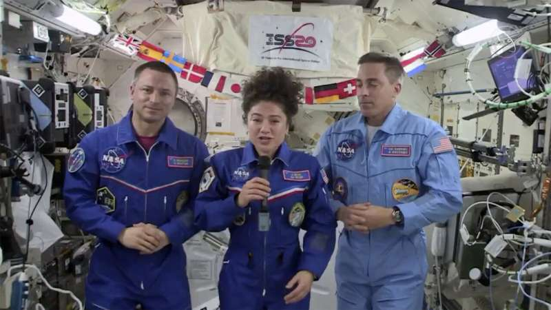 After months in space, astronauts returning to changed world