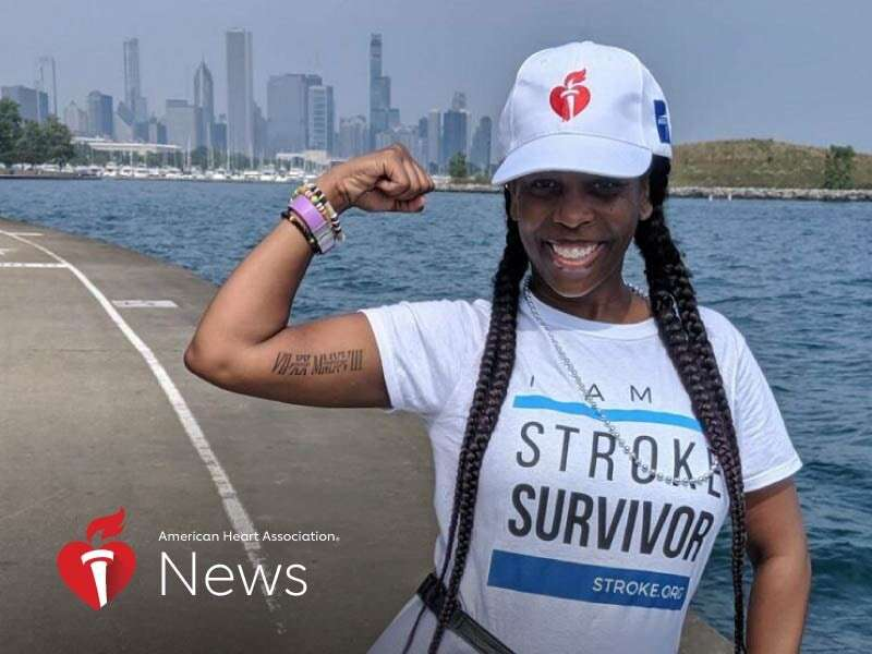AHA news: A stroke at 37 meant relearning everything