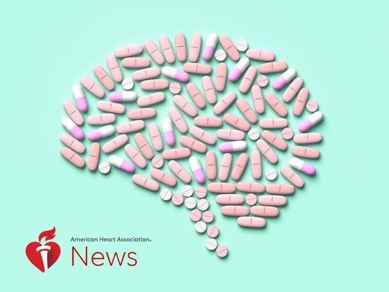 AHA news: certain antidepressants might increase stroke risk for young adults with PTSD